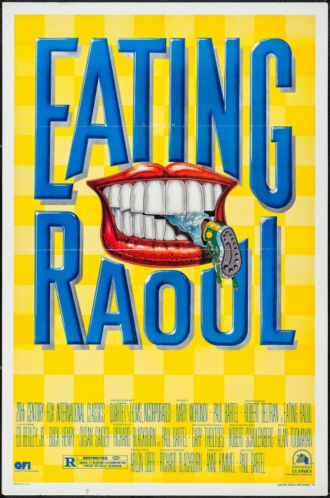 EATING RAOUL - American Poster